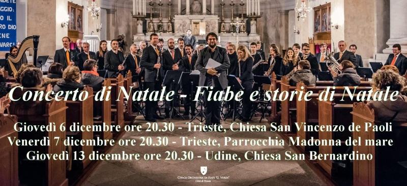 Trieste Natale Immagini.Civica Orchestra Di Fiati Giuseppe Verdi Citta Di Trieste